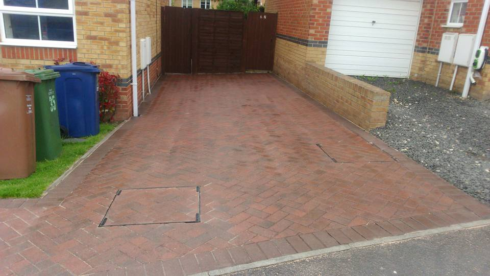 High Pressure Driveway Cleaning South Shields