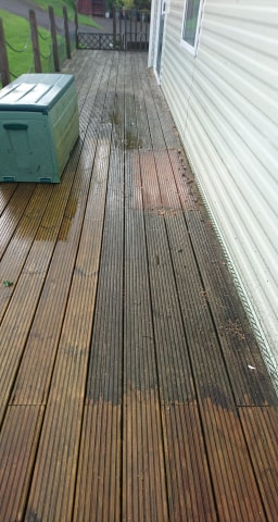 Power Pressure Decking Cleaning South Shields
